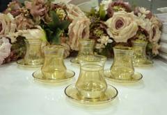 Lav EDA 12 Parça Çay Takımı - Gold resmi