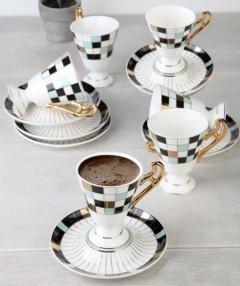 ACAR PLUS 6'lı Kahve Fincanı resmi