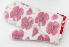 Penguen Silikon Çiçekli Fırın Eldiveni resmi