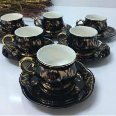 ACAR Gold Desenli Kahve Fincanı  resmi