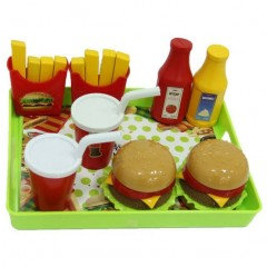 Tepsili Hamburger Seti resmi
