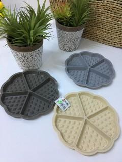 ACAR 5 Bölmeli Silikon Waffle Kalıbı resmi