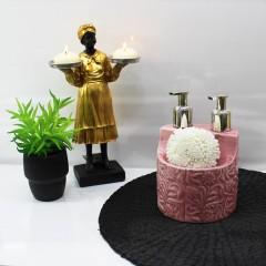 Tekbir Çiftli Süngerli Sıvı Sabunluk