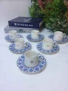 Tekbir Porselen 12 Parça Kahve Fincanı Set resmi