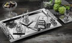 Tiamo 18 Parça Selçuklu Çay Seti- Gümüş resmi