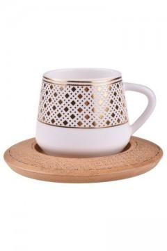Bambum Hanzade  4 Parça Kahve Fincanı