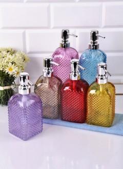 Paçi Renkli Cam Sıvı Sabunluk - 390
