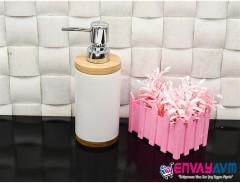 Acar Bambulu Sıvı Sabunluk resmi