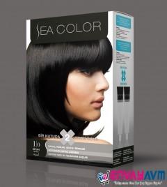 Sea Color Siyah Saç Boyası 1.0 resmi