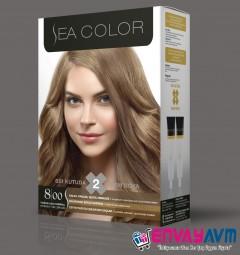 Sea Color Açık Kumral Saç Boyası 8.0 resmi