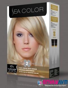 Sea Color Platin Sarısı Saç Boyası 0.1 resmi