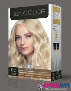 Sea Color Bebek Sarısı Saç Boyası 0.2 resmi