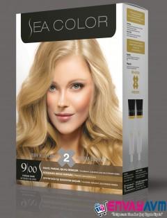 Sea Color Yoğun Sarı Saç Boyası 9.00 resmi