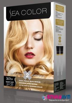 Sea Color Sedef Sarısı Saç Boyası 10.0 resmi