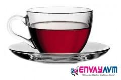 Paşabahçe Basic 12 Parça Çay Fincan Takımı resmi