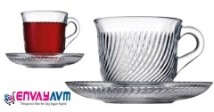 Paşabahçe Marmara 12 Parça Çay Seti resmi