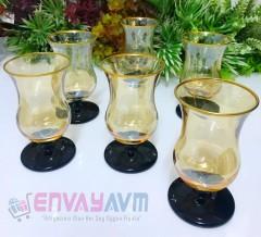Evax Black-Gold Kahve Yanı Bardağı