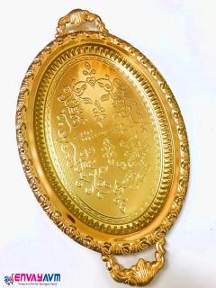 Dalgıç Gold Oval Tepsi resmi