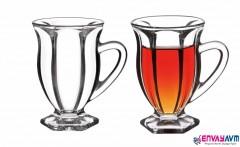 Perotti Ottovia 6 lı Ayaklı Çay Bardağı