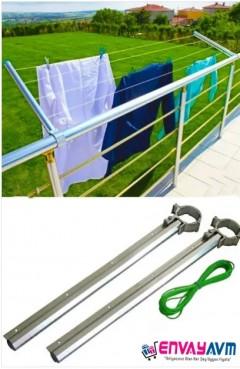 Balkon Çamaşır Kurutmalığı resmi