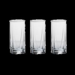 Paşabahçe 42358 Luna, 390cc 3'lü Meşrubat Su Bardağı resmi