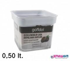 Gondol 0,50 Lt. Erzak Kabı G690