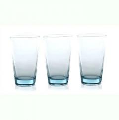 Paşabahçe 42877 İzmir 395cc 3'lü Meşrubat Su Bardağı Mavi
