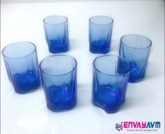 Paşabahçe Luna 6'lı Kahve Yanı Bardağı Mavi resmi