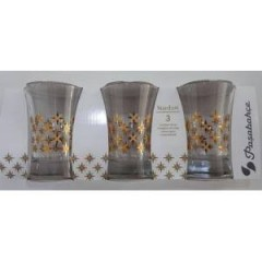 Paşabahçe 420055 Stardust, 300cc 3'lü Meşrubat Su Bardağı resmi