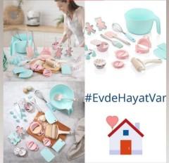 Evde Kal Pasta Yap Yetişkin Seti resmi