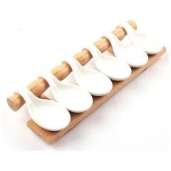bambulu porselen  sunum seti resmi