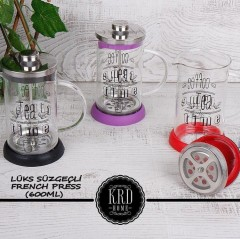 KRD HOME FRENCH PRESS 600 ML  resmi