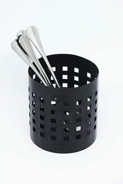 Metal Siyah Mat Kaşıklık resmi
