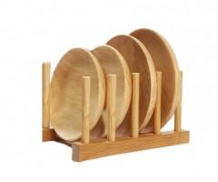 Acar 6 Bölmeli Lüx Bambu Tabaklık Organizer / BMB-007915/48