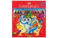 Faber-Castell Pastel Boya 24'lü  resmi
