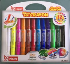 Mikro Süper Soft Crayon 12'li resmi