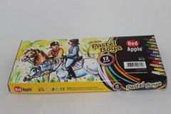 Red Apple Pastel Boya 12'li resmi
