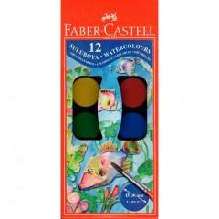 Faber-Castell 12'li  Sulu Boya resmi