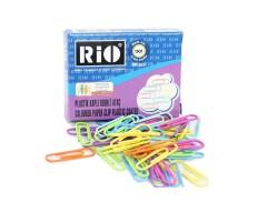 Rio Plastik Kaplı Renkli Ataş