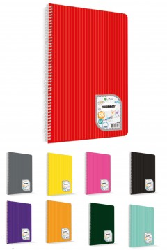 Çınar Colormaxi A4 Spiralli Pp kapak 120 Yaprak Çizgili resmi