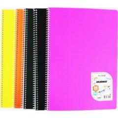 Çınar Colormaxi A4 Spiralli Pp kapak 96 YaprakKareli resmi