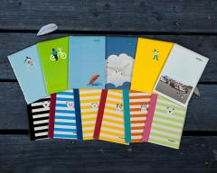 Mopak A4 Tel Dikişli Karton Kapak 100 Yaprak Kareli resmi